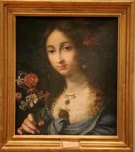 Portrait of a Young Woman from the Corsini Family as Flora